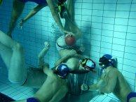Rugby subacuático.