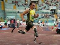 Miércoles 20 de julio de 2011, el sudafricano Oscar Pistorius será el primer atleta discapacitado en competir en un Mundial.