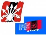 Falange Española-La Falange y Falange Auténtica.