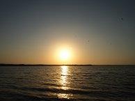 Una puesta de sol en Valencia