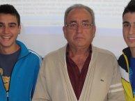 José Buitrago al terninar la entrevista