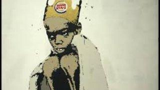 Recopilación de grafitis del murciano Carlos Callizo y el famoso artista Banksy.