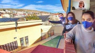 solar panels from our school CBM Cruz de Piedra