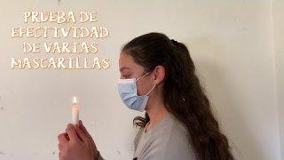En este vídeo reproducimos la prueba de la eficacia del mechero pero con una vela. Lee atentamente nuestro artículo, te sorprenderá.